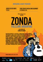 Zonda, Folclore argentino